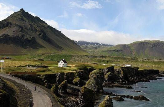 islande paysage route