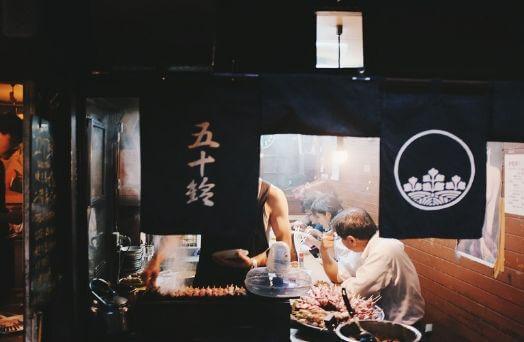 restaurant japon coutume