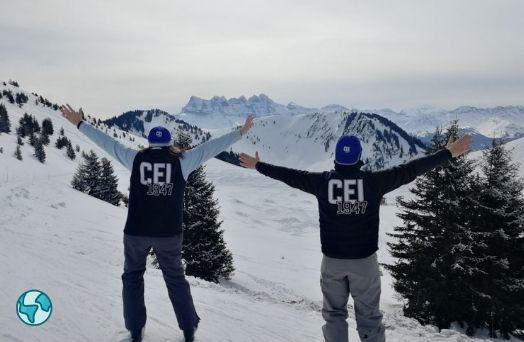 neige ski chatel