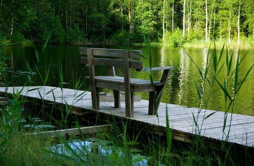 finlande lac nature