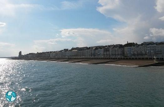 hastings plage paysage