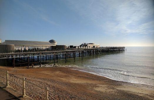 hastings pier mer