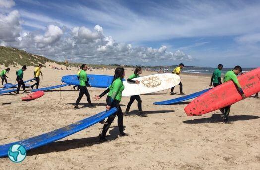 colo  sport irlande surf