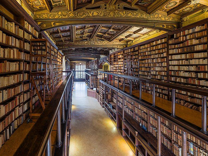 Lieux de tournage de Harry potter en Grande-Bretagne-Bibliothèque Bodléienne d'Oxford