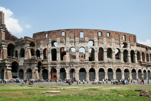 Italie colisee rome monuments