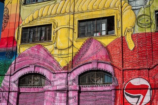 rome testaccio street art italie