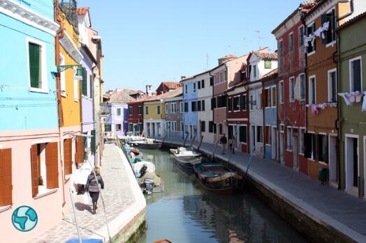 venise cannaregio maisons couleurs italie