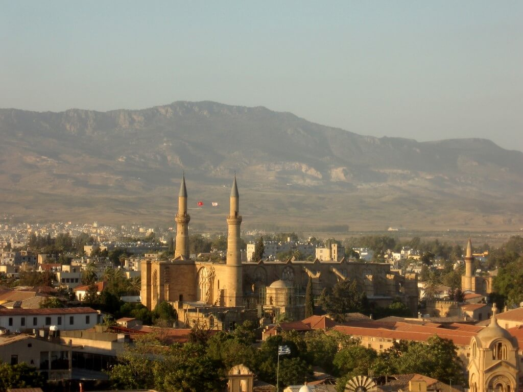 Mosquée à Nicosie