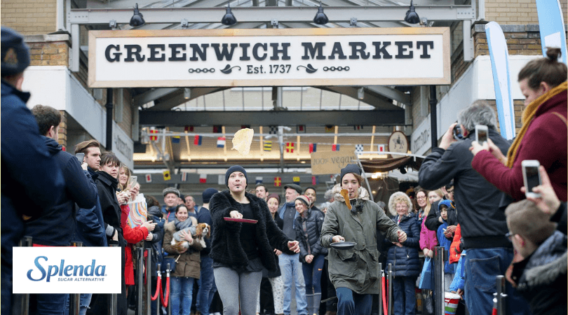 Pancake Race _ Greenwich Market