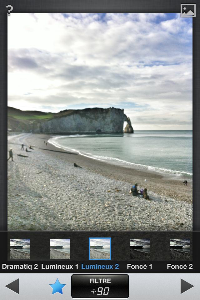 Snapseed - CEI - Les applications de retouche photo les plus efficaces et accessibles conseillées par nos équipes