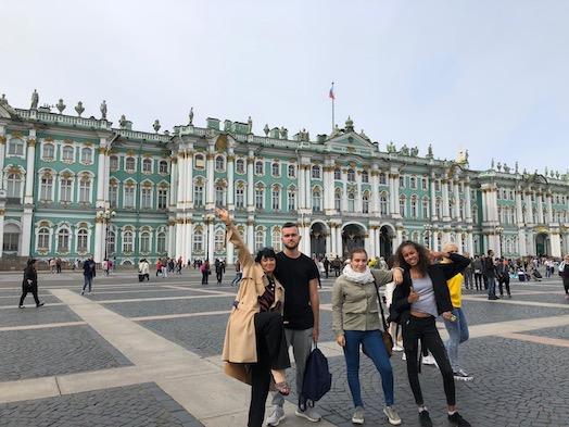 visite musée Ermitage colo Russie CEI