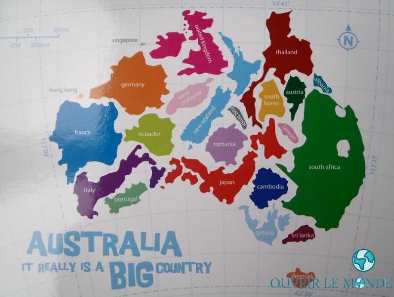 Idée de sujet de conversation : parler de son pays - Séjour en Australie CEI-(copyrignt @Annabelle Dupé)