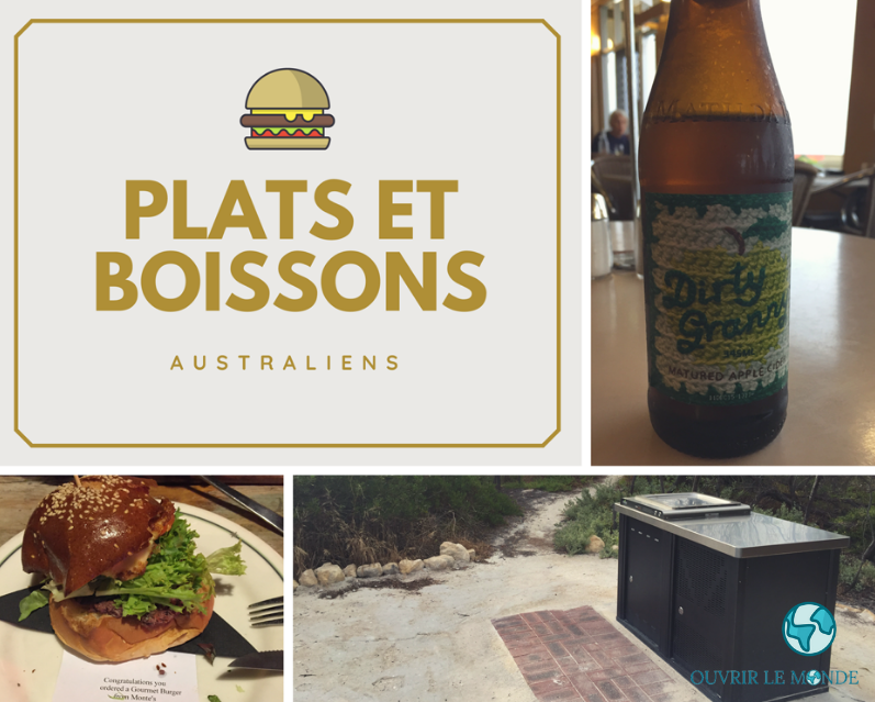 Plats et boissons en Australie ? - Séjour en Australie CEI (copyrignt @Annabelle Dupé)