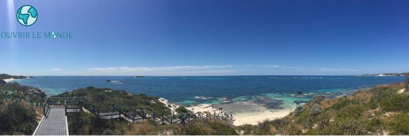 Rottnest Island : accès à la plage et la barrière de corail - Séjour en Australie CEI (copyrignt @Annabelle Dupé)