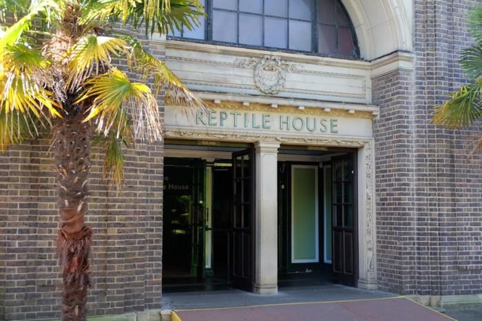 Lieux de tournage de Harry potter en Grande-Bretagne-La Maison des reptiles du zoo de Londres