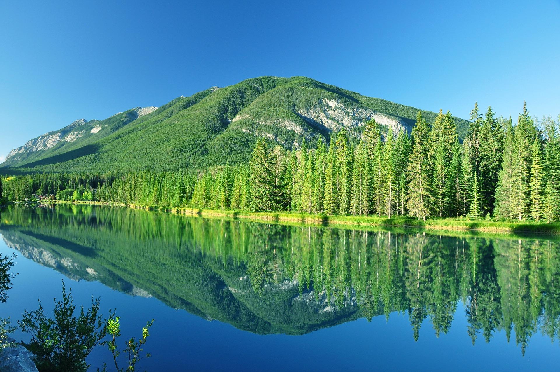 Travailler autrement au Canada-La réserve naturelle de Banff en Alberta