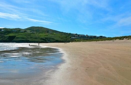 plage irlande galway salthill