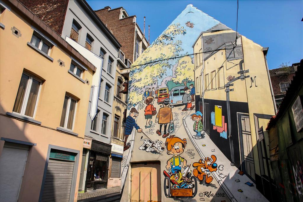 Les incontournables de Bruxelles-Boule et Bill (Roba) - Bruxelles