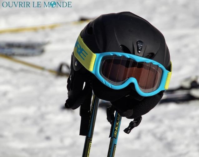 casque sécurité ski