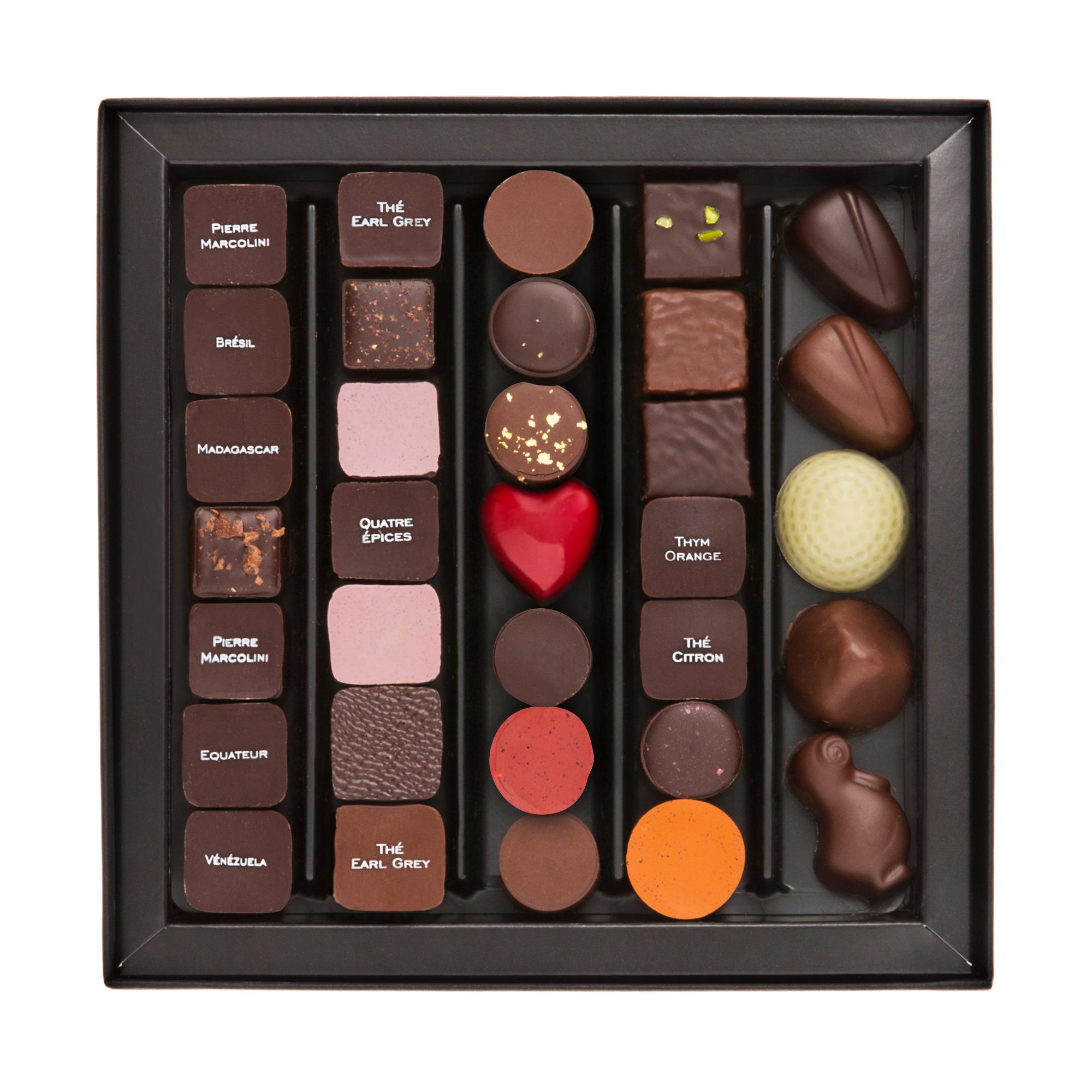 Les incontournables de Bruxelles-Chocolats Pierre Marcolini