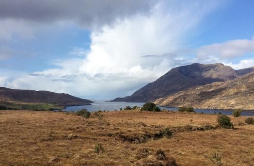 lac connemara irlande galway