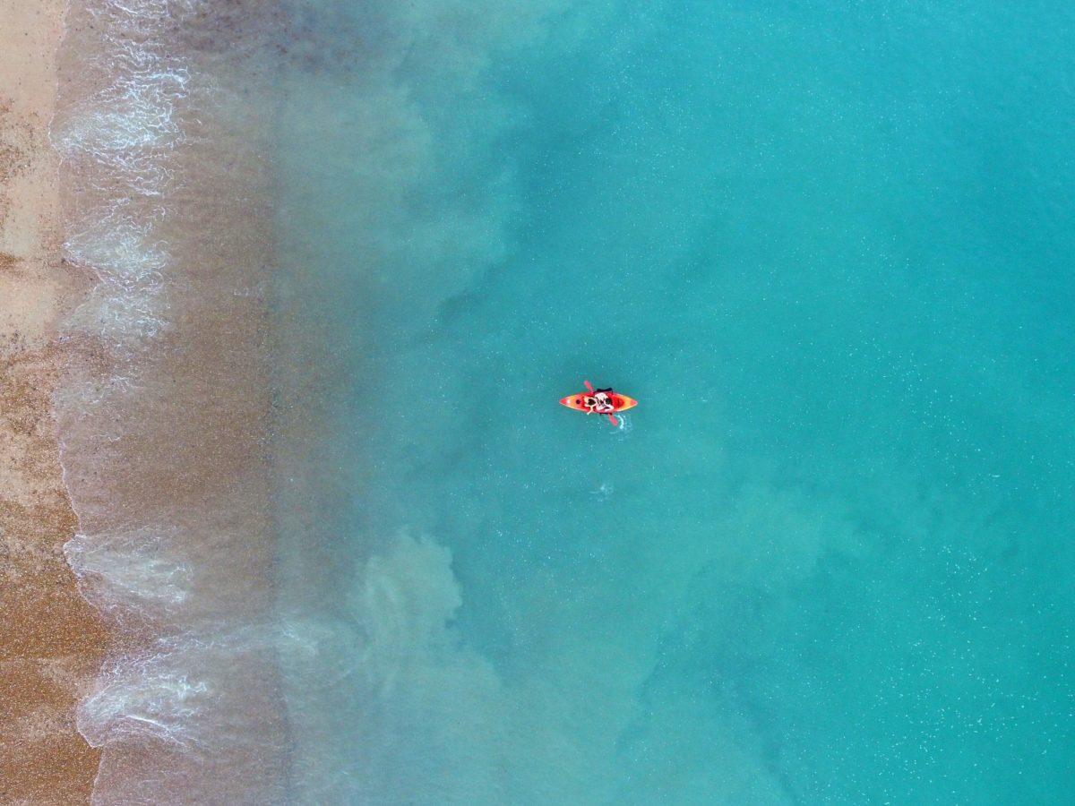 Faire du kayak à Chypre