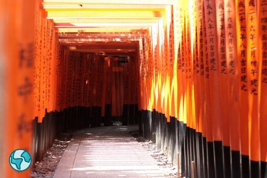 sanctuaire kyoto fushimi inari