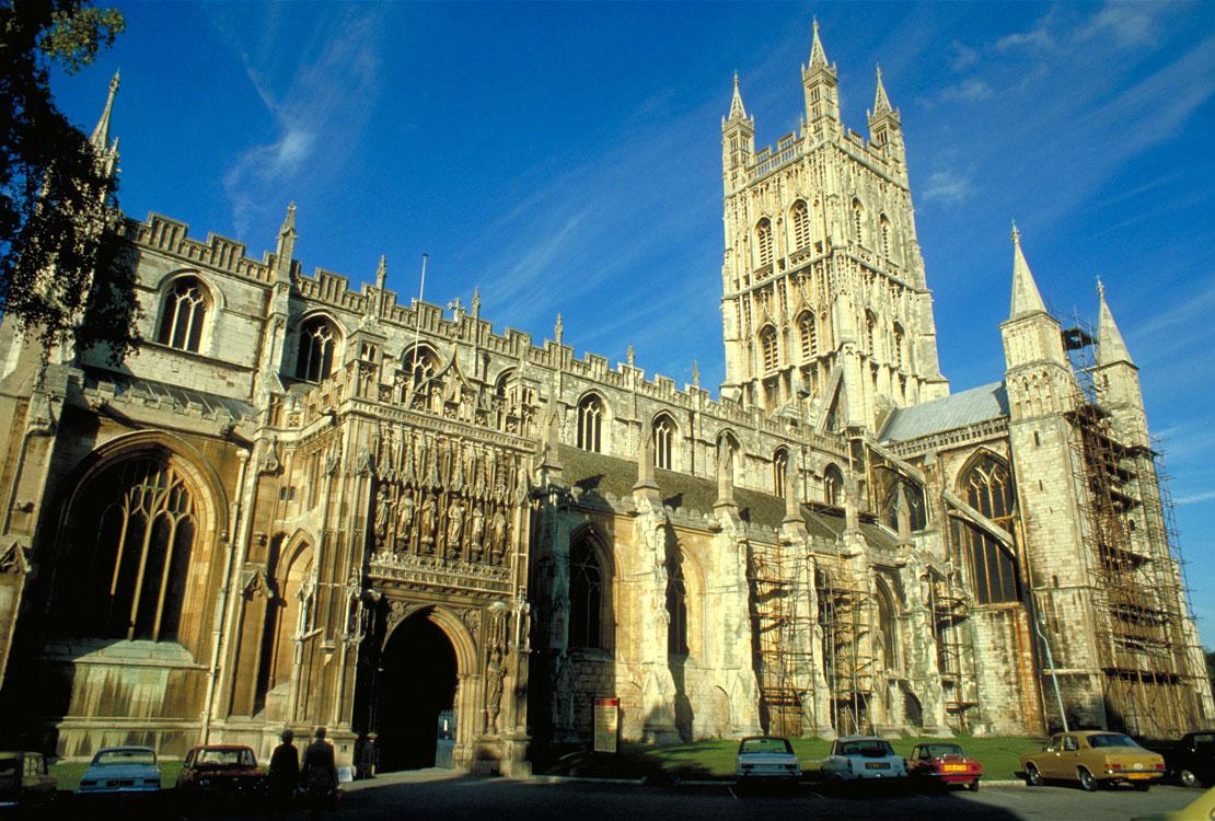 Lieux de tournage de Harry potter en Grande-Bretagne-Cathédrale de Gloucester