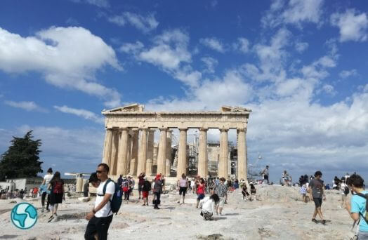 grece acropole vacances ete