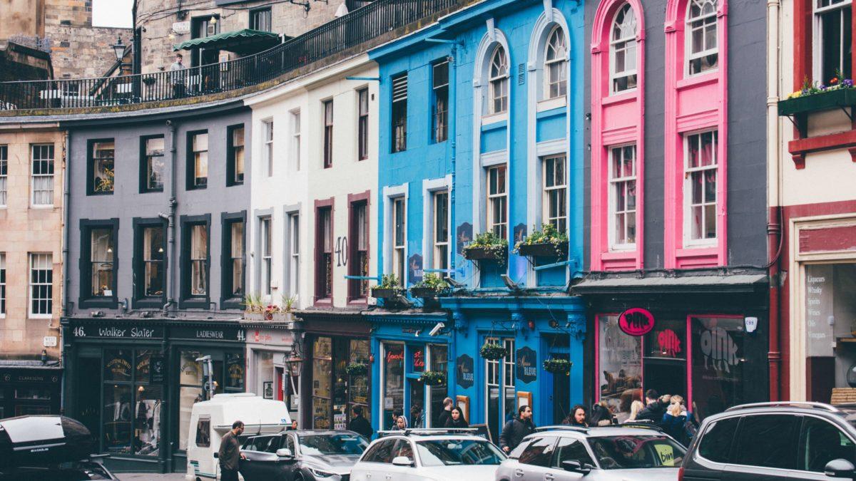 Victoria Street à Edimbourg