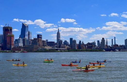 new york hudson river kayak