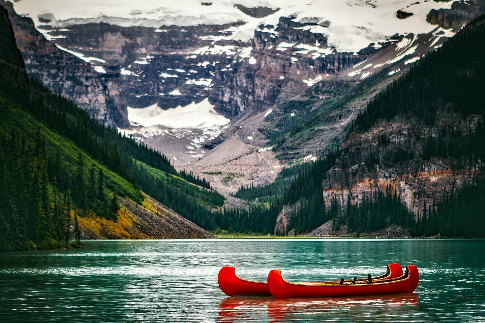 Travailler autrement au Canada-Le Lac Louise en Alberta