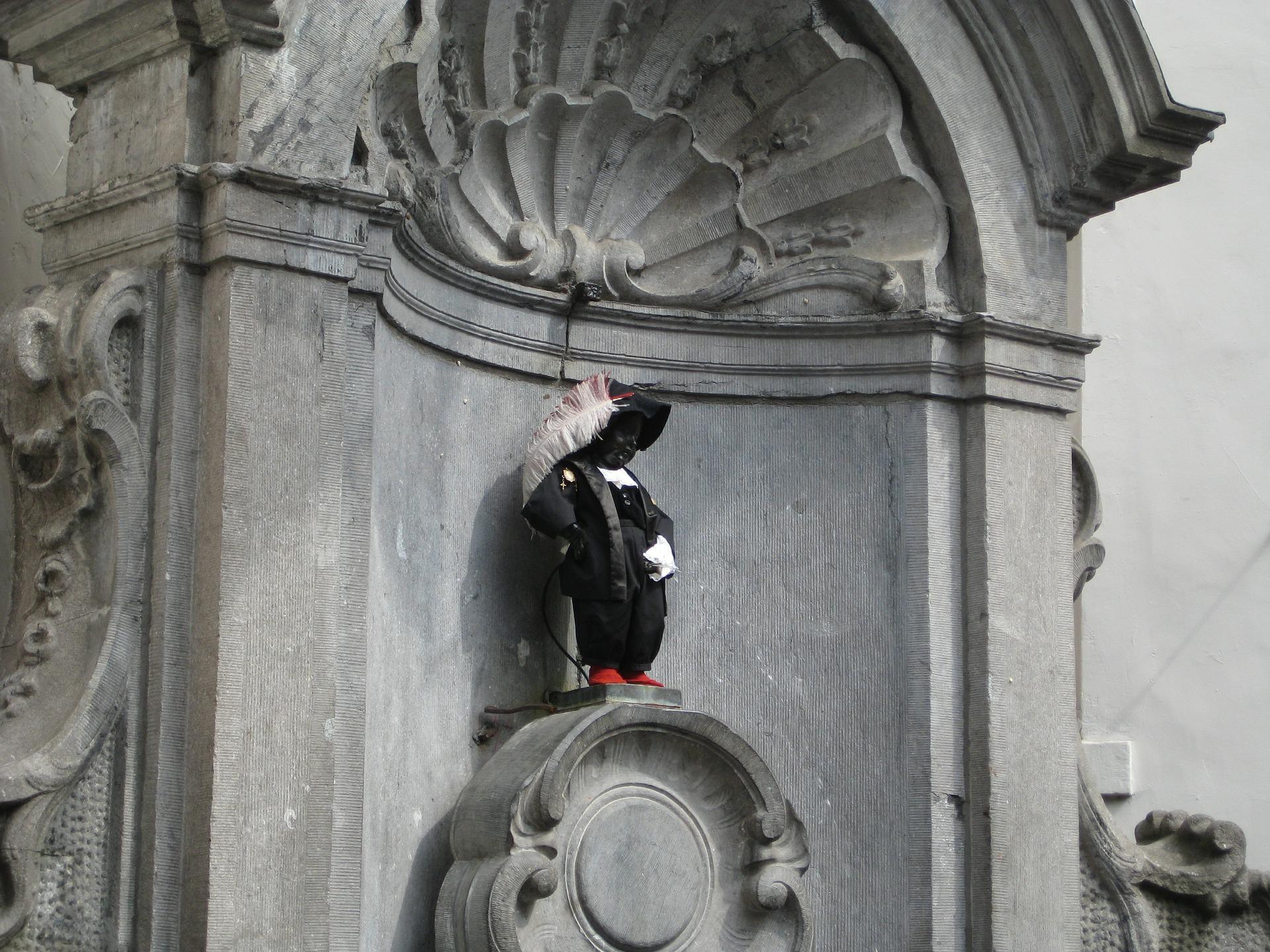 Les incontournables de Bruxelles-Le Manneken Pis en d'Artagnan