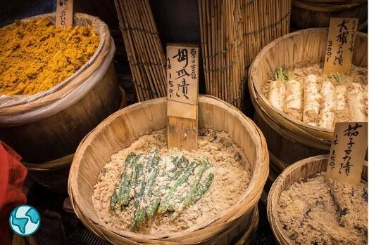 marche nishiki kyoto japon