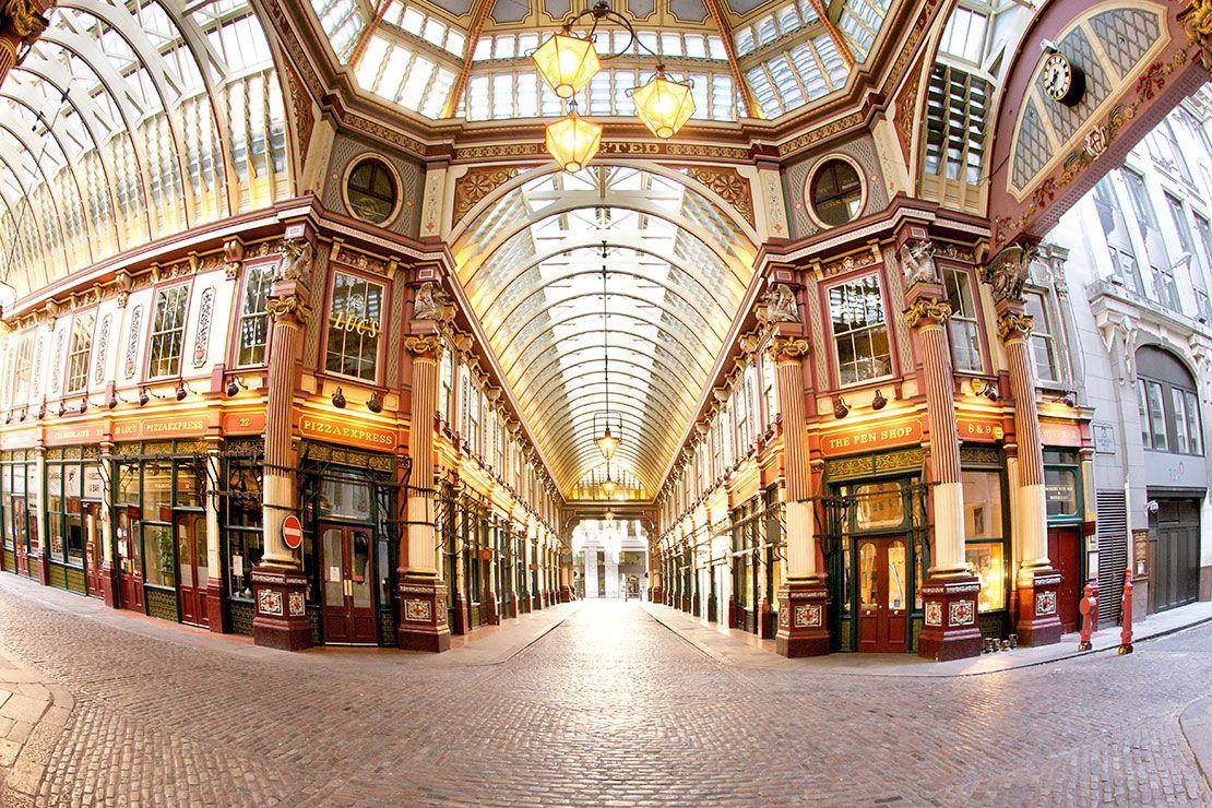 Lieux de tournage de Harry potter en Grande-Bretagne-Leadenhall Market