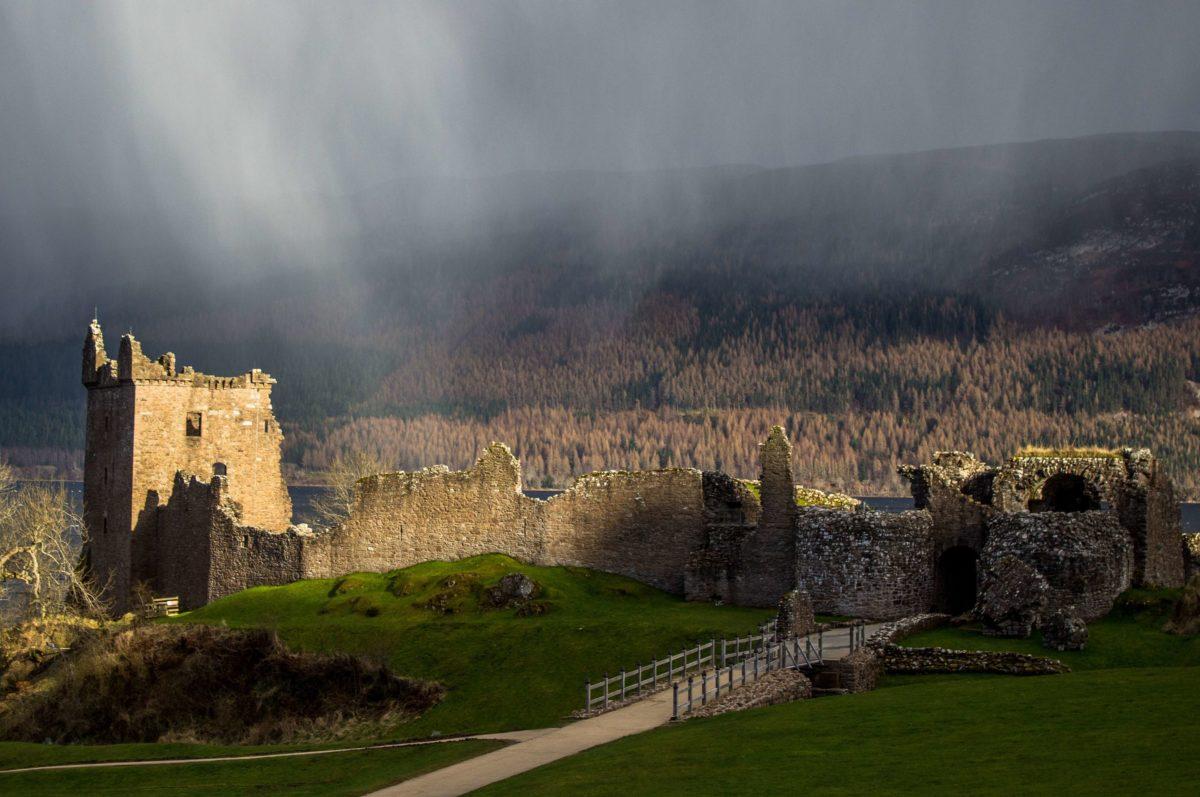 Château sur le Loch Ness