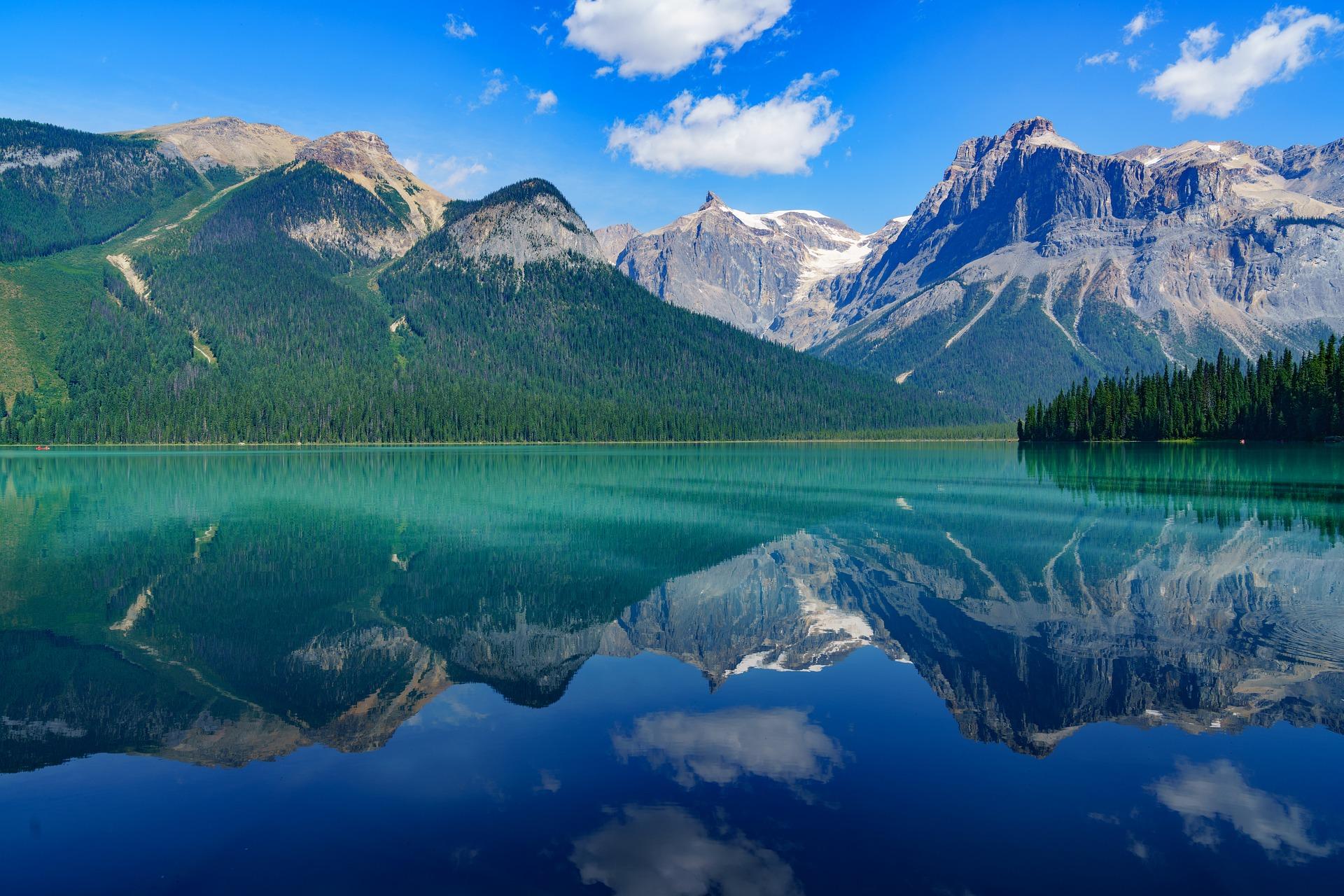 Travailler autrement au Canada-Les paysages de l'Alberta au Canada