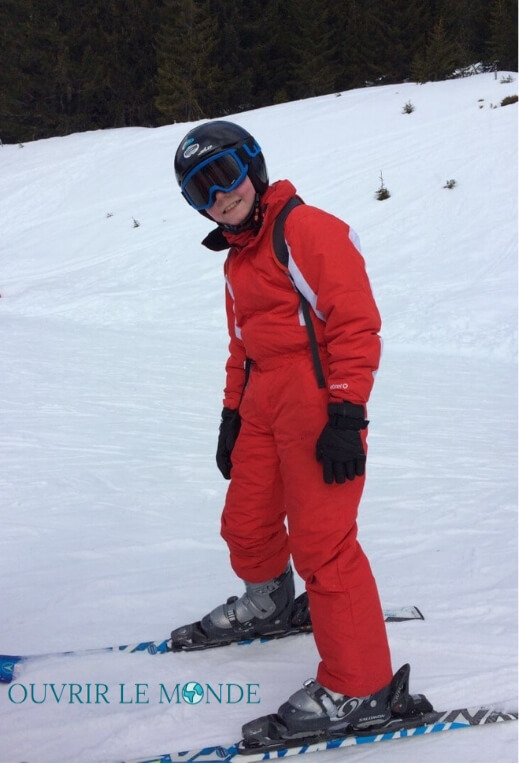 tenue ski enfants adulte