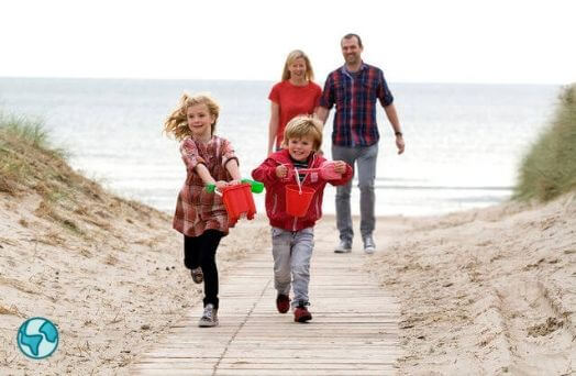 vacances famille ete irlande