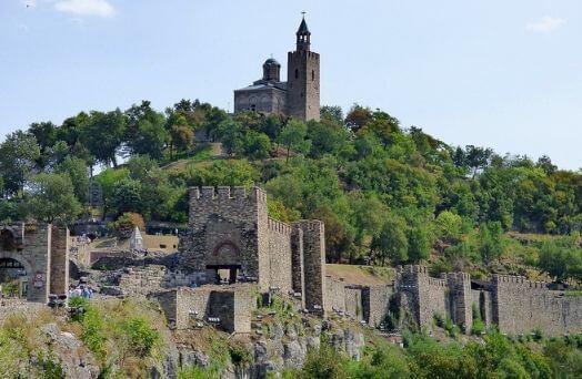 bulgarie forteresse tsarevetz