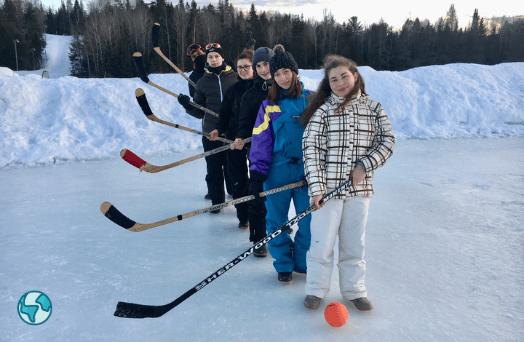 jeunes hockey sur glace canada