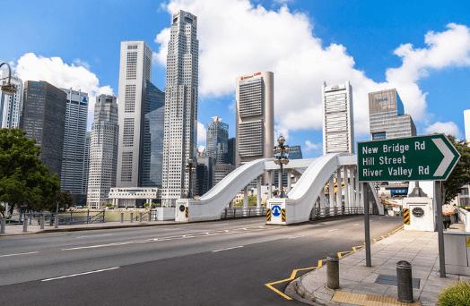 singapour ville propre