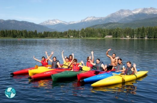 kayak summer camp solo canada
